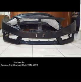 Honda civic X bumper front and rear