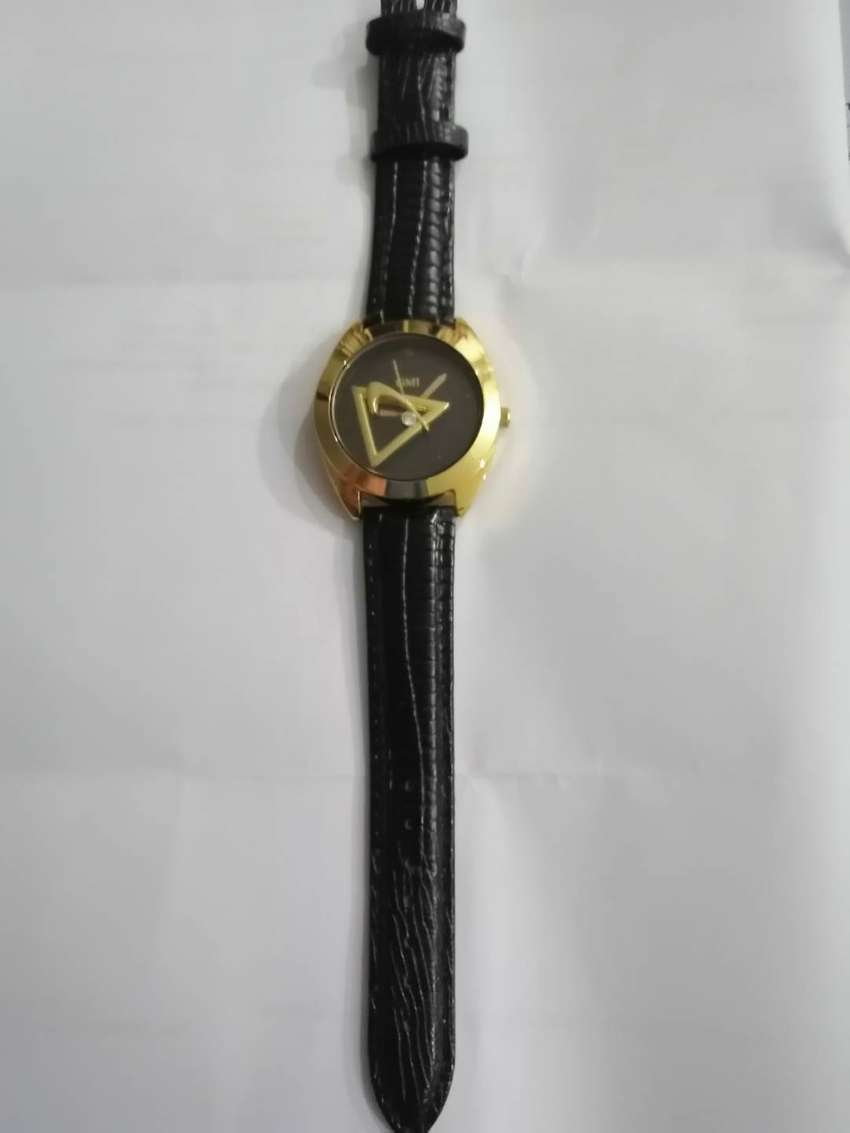 Wrist Watch Gold Plated Dial 0