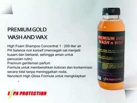 Shampoo titanium gold wash and wax gantelman parfum