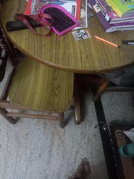 Dinning table for sale with good condition for 6000rs
