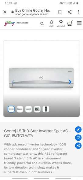 Godrej appliances available in different  price.