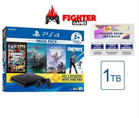 NEW PS4 SLIM Megapack Bundle GTA V PRODUK RESMI