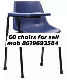 Chairs with hand set