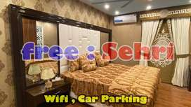 LUXURY / 2 Bed apartment / Sehri, car parking / E11 Islamabad