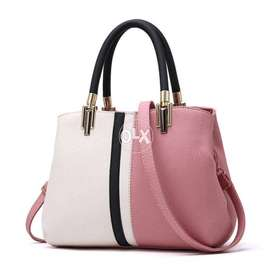 Evening Handbag PU Leather Tote Style Zipper High Quality