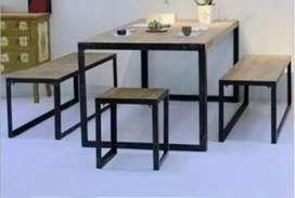 Set meja kursi cafe
