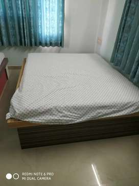 Two Double bed with storage