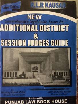 District and session judge guide