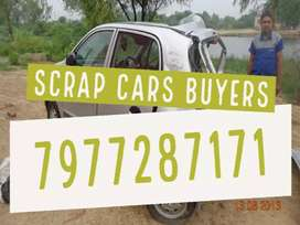Sttst--- WE BUY ALL TYPES OF SCRAP CARS ACCIDENTAL CARS