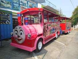 kereta mini wisata terjamin siap pakai RF odong odong