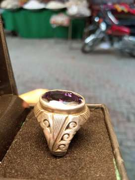 A new siver ring weight 12.300 price 4300