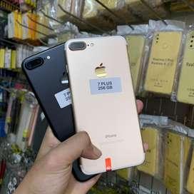 Iphone 7 plus 256Gb semua fungsi normal boksu