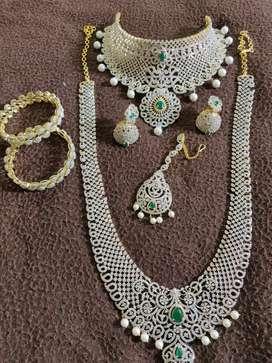 Necklace American Diamond Swarovski