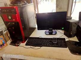 Computer set 500GB hard disk