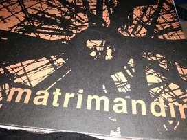 Globe book matrimandir book