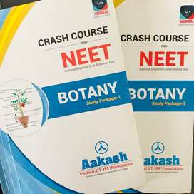 NEET Crash Course BOTANY Study Package