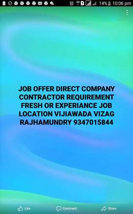 Job offer direct company contractorrequirement