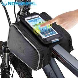 Roswheel Tas Sepeda Waterproof dengan Case Smartphone - ROS12813