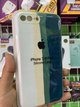 Softcase Original Rainbow Anti Noda iPhone 7 Plus / 8 Plus