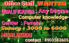Job offer Office