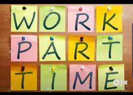 Home based typing work,part time job,Data entry works