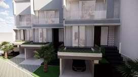 Rumah baru 3 lantai mewah kokoh rapih nyaman