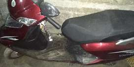 United 100 cc Scooty  2020 Model. Registered (2021)
