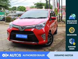 [OLX Autos] Toyota Calya 2017 1.2 G Bensin A/T Merah #Derapro