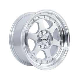 velg murah HSR-Rumoi-Ring-15x7-8-H8x100-1143-ET35-30-Silver-Mach