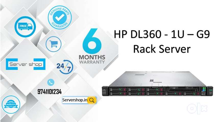 HP DL360 1U G9 / HP G7 / G8 / G9 / G10 / SERVER'S WITH HIGH configurat 0