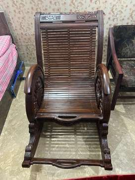 Large size rocking chair