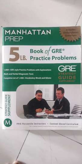 MANHATTAN PREPARATION 5LB GRE BOOK