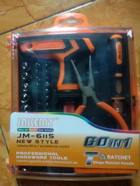 Obeng Tool Set Merek Jakemi JM-6115 Original