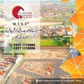 Residential plot for sell 3.5 marla