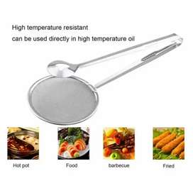 2-in-1 Stainless Steel Colander Spoon.