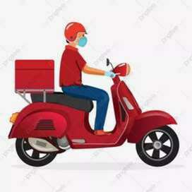 Delivery boy urgent hiring Freshers experience can male apply