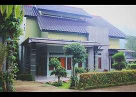 Jual Rumah Vila di kampung gati cijeruk Bogor
