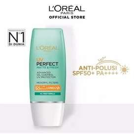 Loreal Paris UV Perfect Matte & Fresh Sunscreen Oil-Free SPF 50 - 30ml