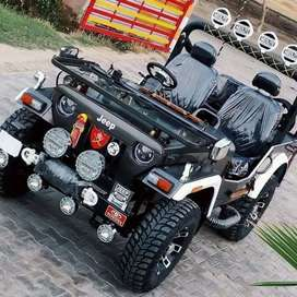 Modified Willy Open Jeeps with Convertible Top