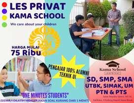 Les Privat SMP, SMA, FOKUS UTBK & SIMAK