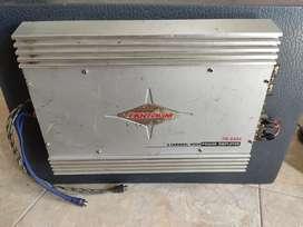 ampli TANTRUM 4ch dan subwoofer PEGASUS dual coil