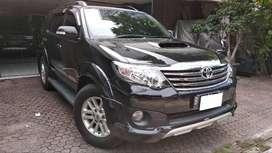 Toyota  Fortuner VNT TRD Sportivo AT 2013 Hitam Full ori tgn 1