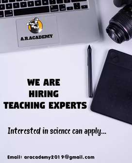 Teaching Experts