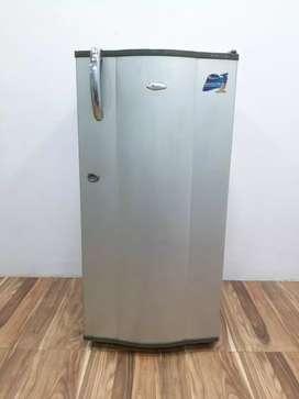 Silver whirlpool 180ltr refrigerator free shipping