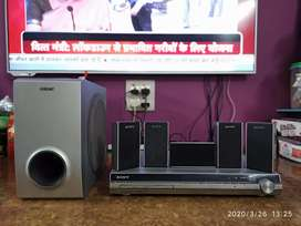 Sony 5 Channel Home theater, working condition, great sound