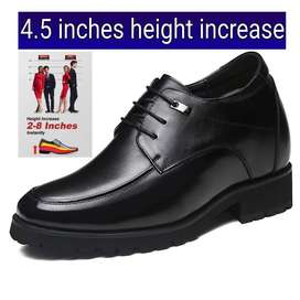 4.5 inches height increasing shoes