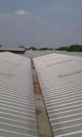 Jasa perbaikan atap gudang dan talang bergaransi gresik surbaya