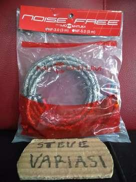 Kabel Jumper RCA 0.5 Meter Momentum Noise Free by Steve Variasi Olx