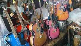 Assorted-color Of Acoustic Guitar Lot