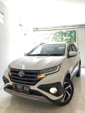 Lowkm6rb rush 2019 trd at putih tt xpander brv 2018 2017 jazz hrv 2020